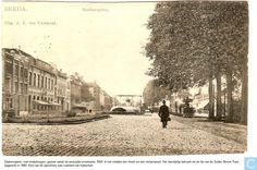 Breda - Stationsplein - 1919.