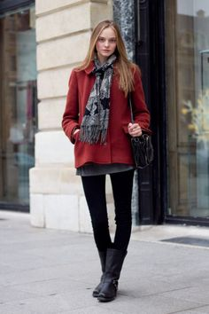 Winter Fashion - This is how it is done. I love layering my wardrobe. It's a skill that every woman should learn. If you don't know how to layer your clothing you'll be left with the same outfits and will end up spending more money on clothes you don't need. You can wear a shirt, cardigan and coat plus add a scarf. Those are already 4 different items! - Angelica