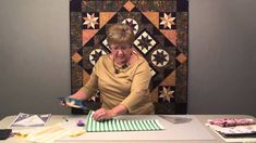 Fussy Cut Lemoyne Stars - Part 1  Once again Deb Tucker has made my quilting world more exciting.  Love this tutorial!