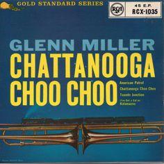 Glenn Miller - Chattanooga Choo Choo Chattanooga Choo Choo, Cd Album Covers, Glenn Miller, Old Records, Jazz Blues, Vinyls, Radios, Albums, Gold