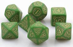 Pathfinder Dice: Jade Regent | RPG Role Playing Game Dice Set