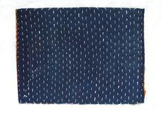 25% OFF! Japanese Zokin Cloth. Antique Handmade Floor Cloth. Layered Cotton Sashiko Textile. Place Mat. (Ref: 906)