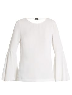 ELIZABETH AND JAMES Raleigh Fluted-Sleeve Top. #elizabethandjames #cloth #top