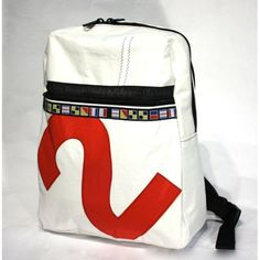 This gorgeous upcycled sailcloth backpack is …sturdy as heck. What more could you ask for?