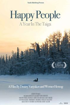 Happy People: A year In The Taiga: Werner Herzog in Siberia - SentieriSelvaggi Netflix Shows To Watch, Movies To Watch, Cult Movies, Netflix Movies, Great Films, Good Movies, Telluride Film Festival, Werner Herzog, Travel Movies