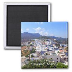 Kythira town – Kythira Fridge Magnet