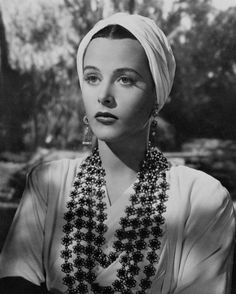 "Hedy Lamarr - looks like this might be from ""Tortilla Flat"""