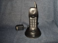 VTECH 9113 900MHz Analog Cordless Telephone Handset and Base with AC Cord EUC #VTech