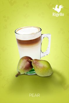 #Fruit Line: #Pear #Coffee by #Rigello