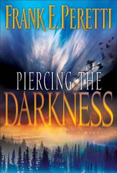 """Piercing the Darkness"" by Frank Peretti. This is a freakin' awesome book. Twists and turns. Great!"