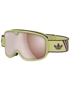 Adidas AH82 2016 Snowboard Goggles - Solar Yellow/Merlot