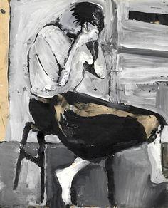 Richard Diebenkorn(American, 1922-1993) Untitled, 1957