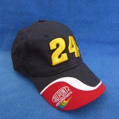 NASCAR 24 Jeff Gordon Winners Circle Dupont Motorsports Blue Red White Hat Cap | Sports Mem, Cards & Fan Shop, Fan Apparel & Souvenirs, Racing-NASCAR | eBay!