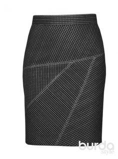 Шерстяная юбка-карандаш. / Фотофорум / Burdastyle