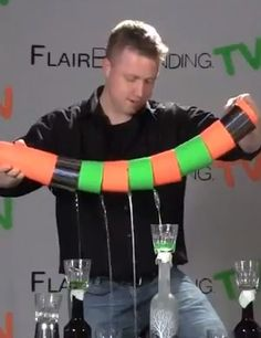 Flair Bartending - free step-by-step videos