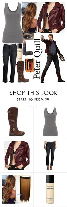 """""""Peter Quill"""" by elizabeth-horan-i ❤ liked on Polyvore featuring maurices, Eileen Fisher, Bare Escentuals, Lipstick Queen and Sony"""