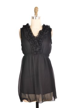 Bellaritta Black Ruffled Blouse Size S | ClosetDash #blouse #top #fashion #style #vintage