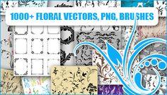 1000+ Floral Vectors & Brushes