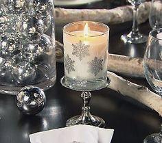 Winter Scent  w/Snowflake Design