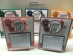 Just Stampin'   Jeanie Stark, Independent Stampin' Up Demonstrator