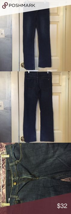 Dark Washed Jeans- Men's Dark washed straight jeans. Tag has been removed. Joe's Jeans Jeans Boot Cut