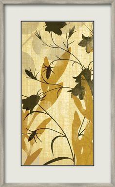Seasonal Lilies II Painting Print
