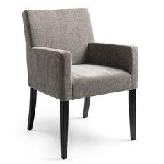 Babet eetkamerstoel met armleuning, ontwerp uw eigen stoel