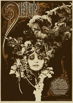 "Aaron Horkey, Vania Zouravliov ""Dracula Variant Poster"""