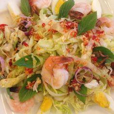 Cambodian salad @ the secret recipe