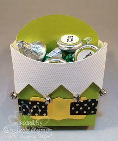 Chelsea's Creative Corner: Ho Ho Ho .... it's an Elf Fry Box