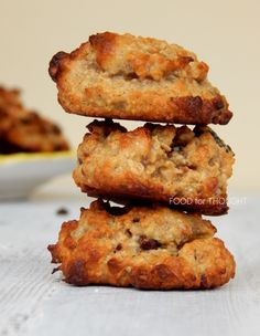 Μαλακά μπισκότα με βρώμη, φουντούκια και ταχίνι