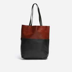 The Lara Tote is fashioned from genuine leather in two tones – its most outstanding feature. It has stitched leather shoulder straps and a pocket on the inside for keys or a mobile phone. Note: This bag is not lined. Two Tones, Birthday Wishlist, Stitching Leather, Tote Bag, Bags, Clothes, Collection, Fashion, Handbags