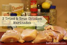 Beth Celestin: Friday Favorites: Marinades