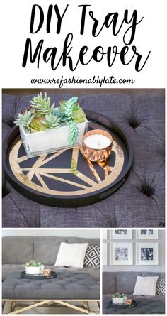Tray Makeover - www.