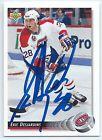 Eric Desjardins signed 1992-93 Upper Deck card Montreal Canadiens autograph - http://sprtz.us/HabsEBay