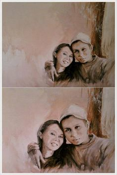 #people #love #painting #art #portrait #myart