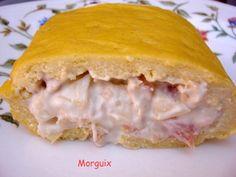 El Puchero de Morguix: Pastel de salmón en masa choux