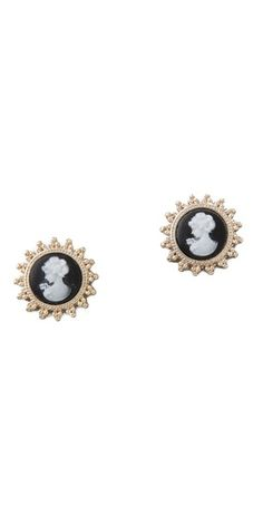 Juliet & Company Cameo Stud Earrings $28.00
