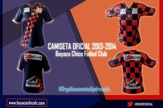 Camiseta Oficial Boyaca Chico 2013-2014