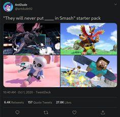 Super Smash Bros Memes, Nintendo Super Smash Bros, Super Smash Ultimate, Nerd Memes, Pokemon, Fire Emblem Characters, Another Anime, Know Your Meme, Disney Fun