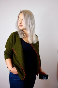 The Saunio cardigan - Project #sewmystyle 2 - Self Assembly Required!