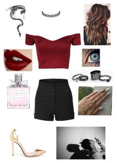 """""""The Weeknd"""" by find-your-hope on Polyvore featuring Gianvito Rossi, Free People, Christian Dior and Charlotte Tilbury"""