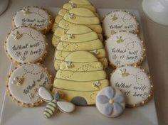 honey bee cookies - Google Search