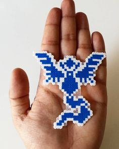 Team Mystic - Pokemon GO hama mini beads by duastiro_creazioni
