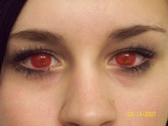 Awesome Eye Contacts   Awesome Red Contact Lenses