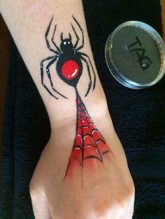 Spider arm paint using Tag by Nerida.