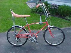 Banana seat bicycle.