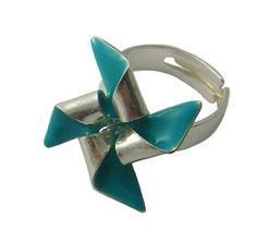 rotating windmill ring