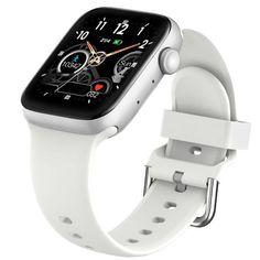 Smart Watch Bluetooth Call Waterproof Fitness Tracker - Add white strap