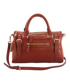 Look what I found on #zulily! Erica Anenberg Camel Venteux Shoulder Bag by Erica Anenberg #zulilyfinds